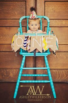 Baby boys first birthday photo prop high chair painted teal burlap banner owl hat  sc 1 st  Pinterest & 11 Ideas To Plan The Best First Birthday Bash | Pinterest | Painted ...