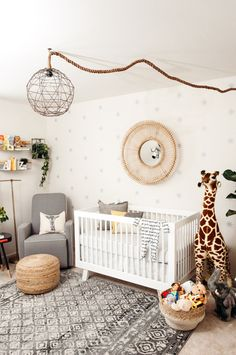 Ideas For Baby Boy Nursery Safari Safari Theme Nursery, Nursery Themes, Nursery Decor, Safari Bedroom, Nursery Ideas, Nursery Boy, Themed Nursery, Project Nursery, Room Ideas