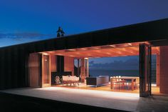 The Coromandel Bach home, designed by Crosson Clarke Carnachan Architects is located in Coromandel, New Zealand