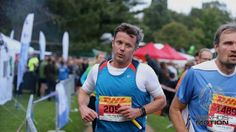 Crown Prince Frederik participates in a relay in Marselisborg 19 August 2014