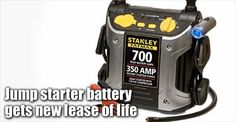 Stanley Fatmax 350 Amp Jump Starter Battery Recovery