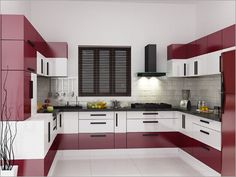 Image result for l shaped modular kitchen designs