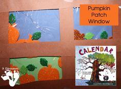 Pumpkin Patch Windows – Poppin Book Nook | 3 Dinosaurs