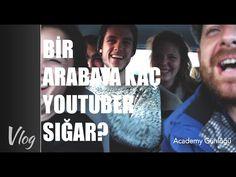 Bir Arabaya Kaç YouTuber Sığar - YouTube Academy Gunlugu
