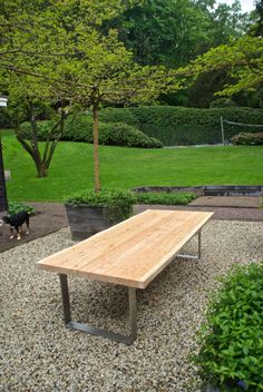 Larch Outdoor Table