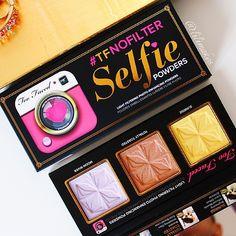 NEW Too Faced Selfie Powders! #tfnofilter
