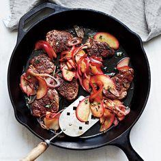 11 Weeknight Dinners That Do Not Suck: Spiced Pork Tenderloin with Sautéed Apples Recipe | CookingLight.com
