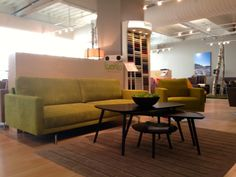 Great, green Luonto in HP, USA Decor, Furniture, Comfortable, Conference Room, Room, Sofas, Table, Home Decor, Conference Room Table
