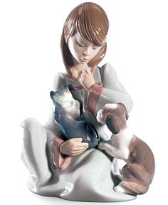 Lladro Collectible Figurine, Cat Nap - Collectible Figurines - For The Home - Macy's