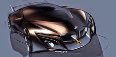 해외/BMW컨셉 스케치입니다. 공격적이고 깔끔한듯 BMW의 느낌을 잘살린 모습이 인상적입니다.