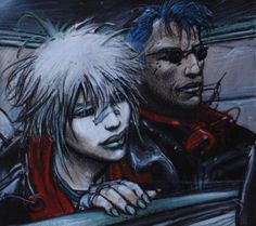 Original art by Enki Bilal in category Strips