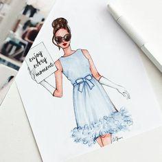 """Think like a proton. Always positive. 1999 Fashion, Fashion Art, Fashion Brands, Fashion Design Drawings, Fashion Sketches, Fashion Illustration Dresses, Fashion Illustrations, Model Sketch, Become A Fashion Designer"