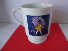 Vintage Morton Salt Girl 1972 Mug