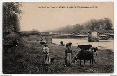 "Normandie-Calvados : Eiffel's bridge (1871) become ""Pegasus Bridge"" after ww2 ."