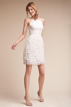 BHLDN Promenade Dress Ivory  in  Bride | BHLDN