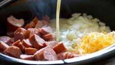 Crockpot Smoked Sausage