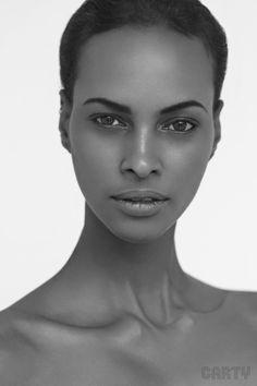 Somalian Beauty - Yasmin Warsame by Steve Carty, via Behance