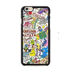 Collage Art Disney IPhone 6| 6 Plus Cases