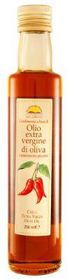 Oli extra vergine d'oliva : Olio Extra Vergine d'Oliva al Peperoncino Piccante