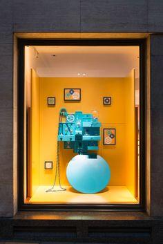 HERMÈS UK Retail Windows | Curiosity Cabinet at Bond Street, London, 2015 by Millington Associates