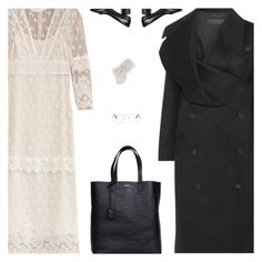 """""""Untitled #4895"""" by amberelb ❤ liked on Polyvore featuring Burberry, Yves Saint Laurent, Alexander Wang and Garrett Leight"""