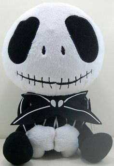 "10"" Nightmare Before Christmas Bowtie Baby Jack Stuffed Plush Toy Doll | eBay"