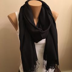 A personal favorite from my Etsy shop https://www.etsy.com/listing/208493341/50-christmas-sale-pashmina-black