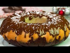 Chec delicios fără ouă sau lapte! Cel mai rapid chec de post cu vanilie și ciocolată | SavurosTV - YouTube Cacao, Vegan Cake, Chocolate, Cheesecakes, Doughnut, Sweets, Desserts, Recipes, Food