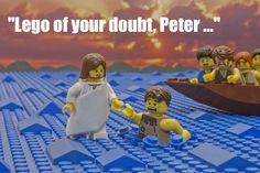 14 hilarious cartoons about Jesus walking on water