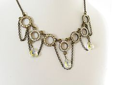 $75  Stunning elegant Swarovski crystal necklace. Perfect for your night out!  www.rachelsjewelrydesigns.com