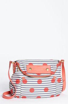 Polka Dots + Stripes Crossbody Bag   MARC BY MARC JACOBS