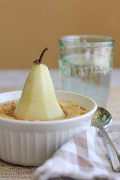 Pear Polenta Muffins Recipe — Dishmaps