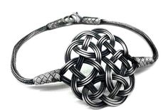 OXİDE 1000 Sterling Silver Hand-Knitted Kazaziye by Assyrians