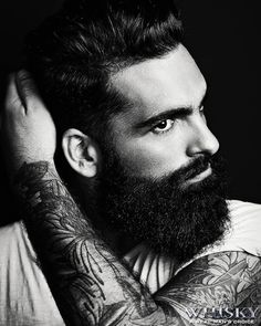 How to grow a beard for the first time? Beard growth stages and tips for growing a beard thicker and faster. Understanding the beard growth timeline I Love Beards, Great Beards, Long Beards, Beard Love, Awesome Beards, Perfect Beard, Man Beard, Men's Grooming, Bart Tattoo