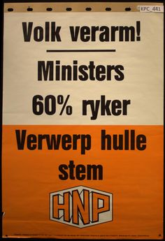 hnp south africa - Google Search Apartheid, Afrikaans, Black History, South Africa, Old Things, Southern, Memories, Antique, Google Search