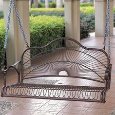I pinned this Sun Ray Porch Swing from the Leaf Magazine event at Joss and Main!