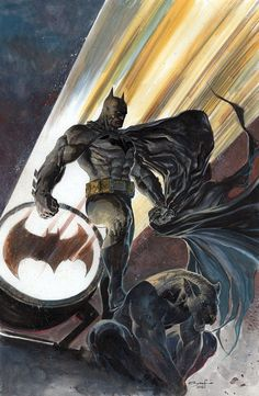 "daily-superheroes: ""Batman on Gargoyle by Ardian Syaf http://daily-superheroes.tumblr.com Source: http://i.imgur.com/VmenopCh.jpg """
