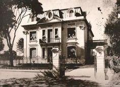 Residência Horácio Espíndola, que ficava na Avenida Paulista