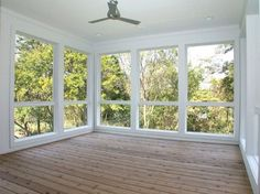rustic sunroom floors - Sunroom Design Ideas, Pictures, Remodel, and Decor - page 4