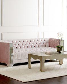 Mirrored Sofa