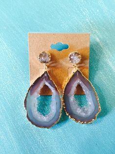 Druzy & Geode Earrings