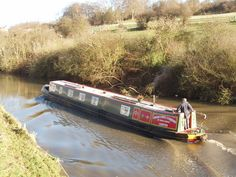 CANAL NARROW BOATS | Narrow boat on the Grand Union Canal:: OS grid TQ0492 :: Geograph ...