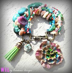 Gypsy Love Bracelet - W.I.L. by Ouroboros Designs on Etsy, $40.00