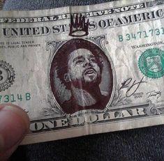 j cole money Trey Songz, Big Sean, Rita Ora, Ryan Gosling, Nicki Minaj, J Cole Art, J Cole Quotes, Life Quotes, Hip Hop Art