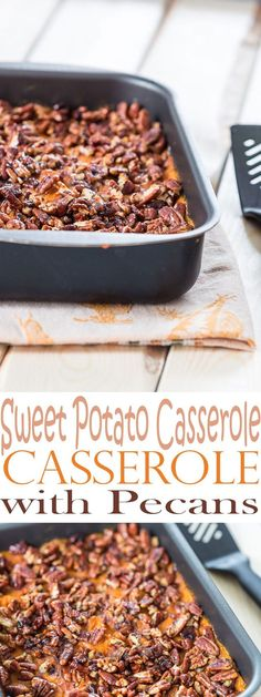 With the Best Ever Sweet Potato Casserole Recipe with Pecans, you will never need another recipe for a sweet potato casserole. This is phenomenal.