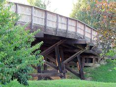 The Wooden Bridge, Rolla, Missouri