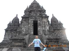 Candi Sewu, one of many ancient temple around Central Java..  Supportive energy all around me
