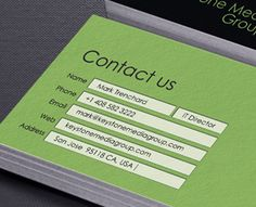 Business Card Keystone Media Group  by Jimmituan (via Creattica)