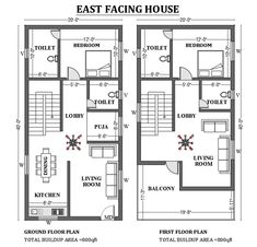 Little House Plans, 2bhk House Plan, Free House Plans, House Layout Plans, Floor Plan Layout, Family House Plans, Small House Plans, House Floor Plans, Narrow House Designs