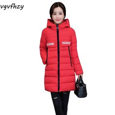 6b874d2d6f3a Winter Jacket Women Parka 2017 New Fashion Winter Coat Women Jackets Coats  Long Hooded Thick Warm Wadded Jacket Female Outerwear-in Parkas from Women's  ...